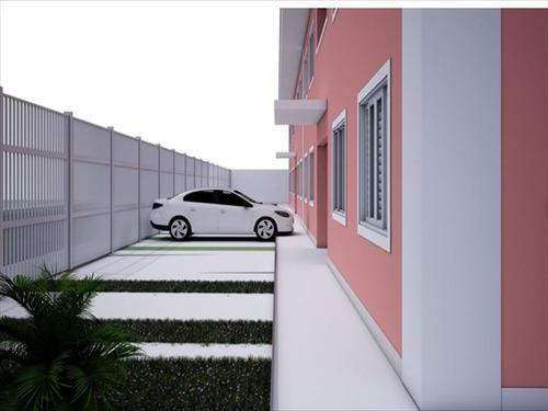 ref.: 334 - casa em bertioga, no bairro boraceia - 2 dormitórios