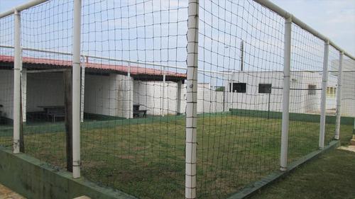 ref.: 33400 - apartamento em itanhaém, no bairro bal tupy - 1 dormitórios