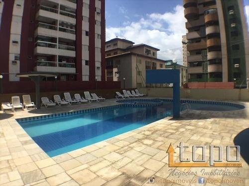 ref.: 3345 - apartamento em praia grande, no bairro canto do forte - 2 dormitórios