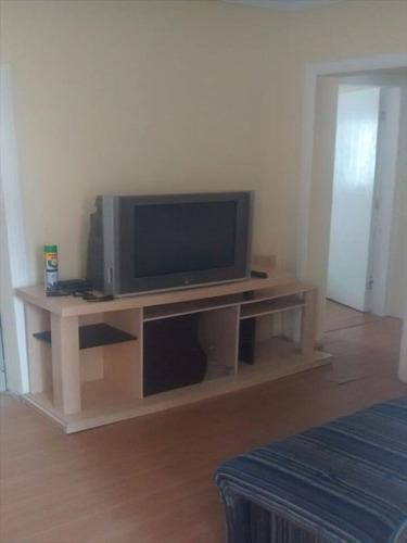 ref.: 3349 - apartamento em praia grande, no bairro guilhermina - 1 dormitórios