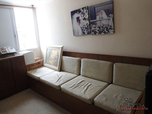 ref.: 3354 - apartamento em sao paulo, no bairro santa cecilia - 3 dormitórios