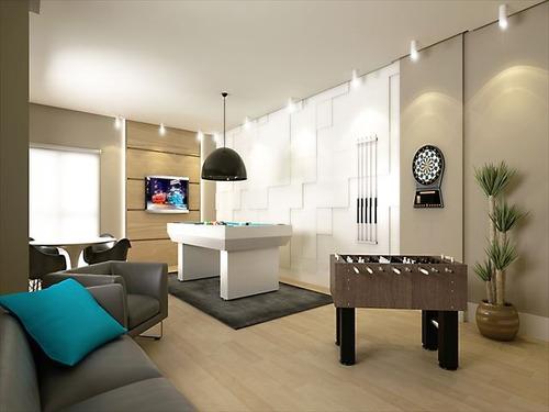 ref.: 3359 - apartamento em praia grande, no bairro boqueirao - 2 dormitórios