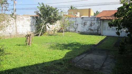 ref.: 336 - casa em itanhaém, no bairro jardim grandesp - 2 dormitórios