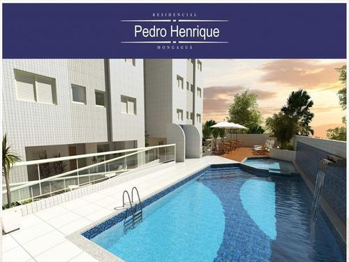 ref.: 336804 - apartamento em mongagua, no bairro centro - 3 dormitórios