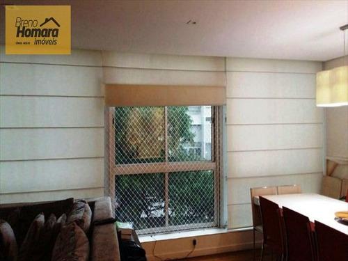 ref.: 337 - apartamento em sao paulo, no bairro santa cecilia - 3 dormitórios