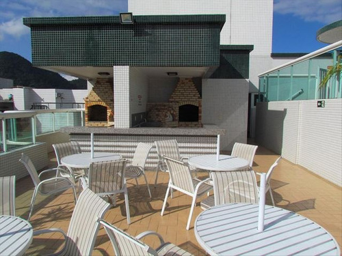 ref.: 3372 - apartamento em praia grande, no bairro canto do forte - 2 dormitórios