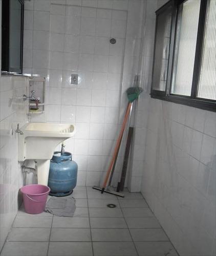 ref.: 3376 - apartamento em praia grande, no bairro guilhermina - 2 dormitórios