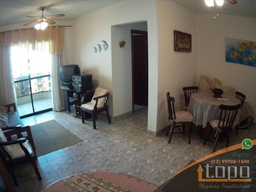 ref.: 3379 - apartamento em praia grande, no bairro canto do forte - 2 dormitórios