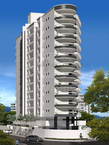ref.: 338 - apartamento em praia grande, no bairro caicara - 2 dormitórios