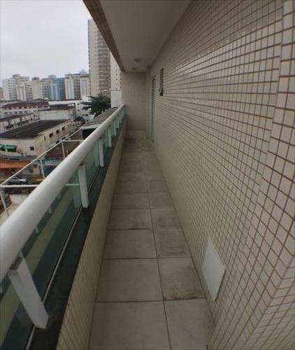 ref.: 3382 - apartamento em praia grande, no bairro boqueirao - 2 dormitórios