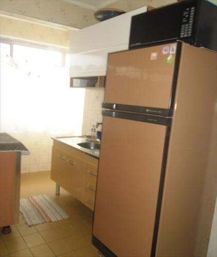 ref.: 3387 - apartamento em praia grande, no bairro mirim - 1 dormitórios