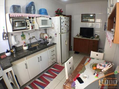 ref.: 3390 - apartamento em praia grande, no bairro guilhermina - 2 dormitórios