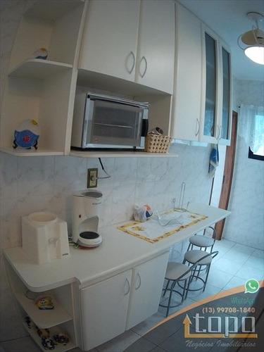 ref.: 3392 - apartamento em praia grande, no bairro canto do forte - 2 dormitórios