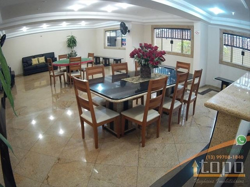 ref.: 3395 - apartamento em praia grande, no bairro boqueirao - 2 dormitórios
