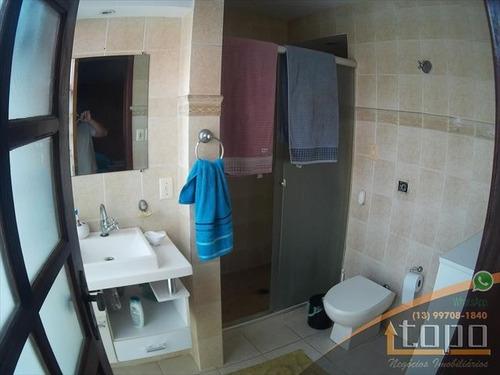 ref.: 3402 - casa em praia grande, no bairro guilhermina - 3 dormitórios