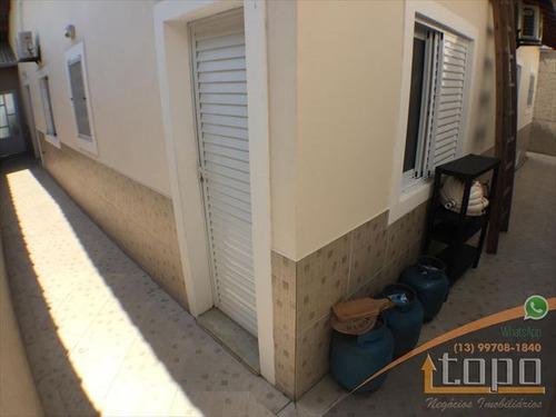 ref.: 3406 - casa em praia grande, no bairro canto do forte - 3 dormitórios