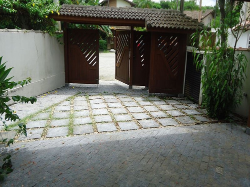 ref.: 341 - casa condomínio fechado em bertioga, no bairro guaratuba costa do sol - 4 dormitórios
