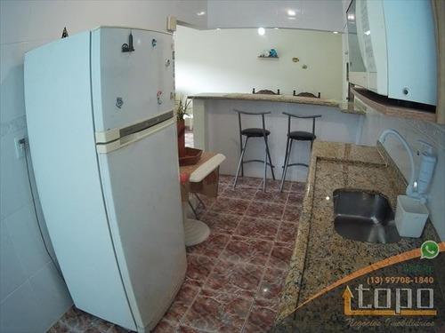 ref.: 3410 - apartamento em praia grande, no bairro canto do forte - 1 dormitórios