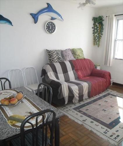 ref.: 3411 - apartamento em praia grande, no bairro ocian - 1 dormitórios