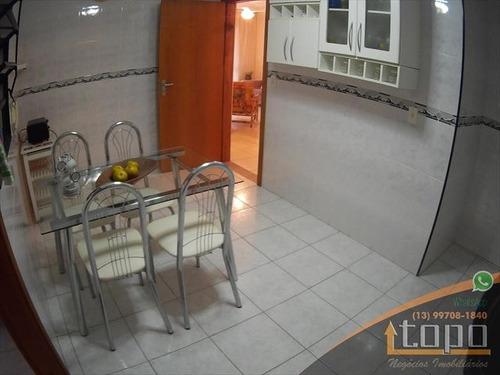 ref.: 3414 - apartamento em praia grande, no bairro canto do forte - 2 dormitórios