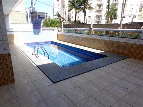 ref.: 342 - apartamento em praia grande, no bairro caicara - 2 dormitórios