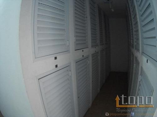 ref.: 3432 - apartamento em praia grande, no bairro guilhermina - 2 dormitórios