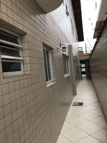 ref.: 3438 - casa em praia grande, no bairro aviacao - 3 dormitórios