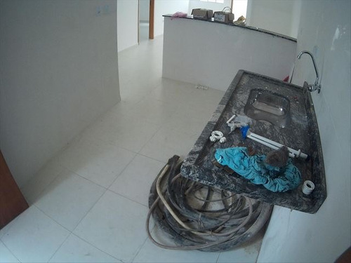 ref.: 3440 - casa condomínio fechado em praia grande, no bairro sitio do campo - 2 dormitórios