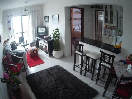 ref.: 3448 - apartamento em praia grande, no bairro aviacao - 1 dormitórios