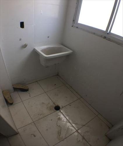ref.: 3454 - apartamento em praia grande, no bairro guilhermina - 2 dormitórios