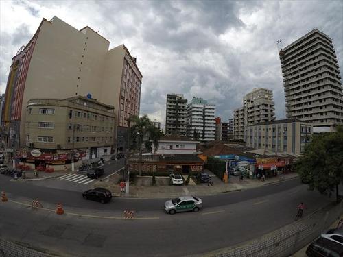 ref.: 3465 - apartamento em praia grande, no bairro boqueirao - 1 dormitórios