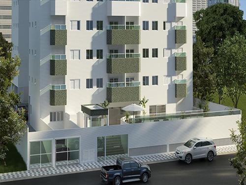 ref.: 3465 - apartamento em praia grande, no bairro guilhermina - 2 dormitórios