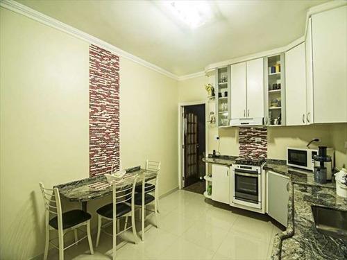 ref.: 3467 - casa em praia grande, no bairro guilhermina - 3 dormitórios