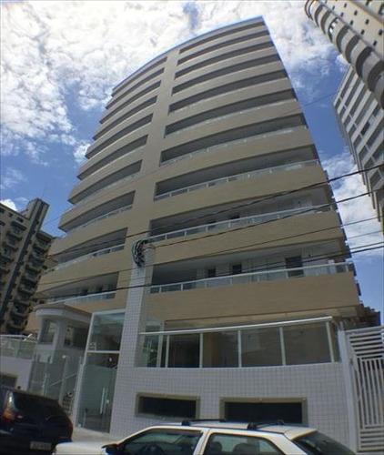 ref.: 3468 - apartamento em praia grande, no bairro guilhermina - 2 dormitórios