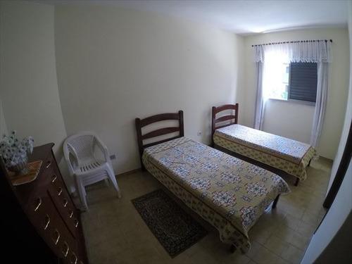 ref.: 3478 - apartamento em praia grande, no bairro guilhermina - 2 dormitórios