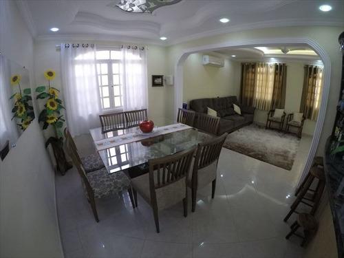 ref.: 3486 - casa em praia grande, no bairro canto do forte - 3 dormitórios