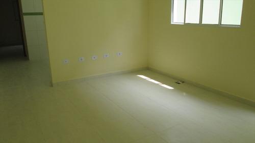 ref.: 349 - casa em itanhaém, no bairro gaivota - 2 dormitórios