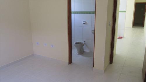 ref.: 34900 - casa em itanhaém, no bairro gaivota - 2 dormitórios