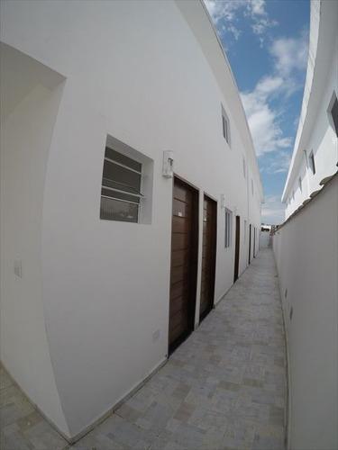 ref.: 3510 - casa condomínio fechado em praia grande, no bairro sitio do campo - 2 dormitórios