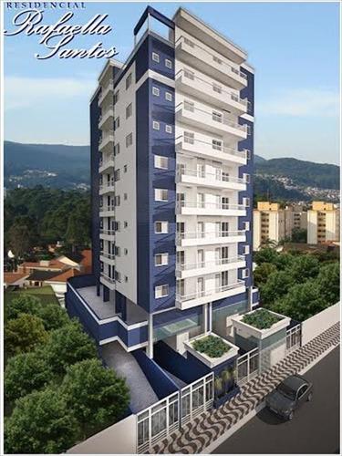ref.: 3511 - apartamento em praia grande, no bairro mirim - 1 dormitórios