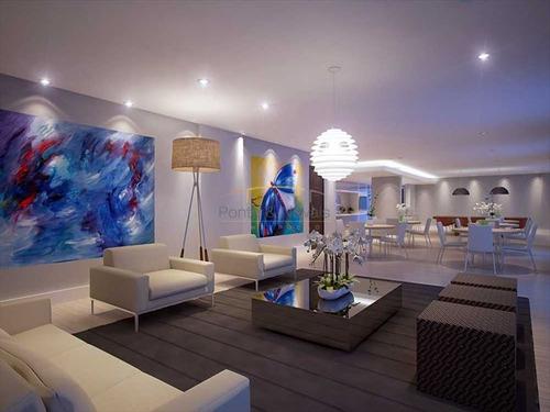 ref.: 3513 - apartamento em praia grande, no bairro guilhermina - 2 dormitórios