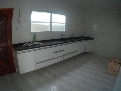 ref.: 3513 - casa em praia grande, no bairro guilhermina - 3 dormitórios