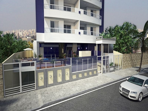 ref.: 3521 - apartamento em praia grande, no bairro aviacao - 2 dormitórios