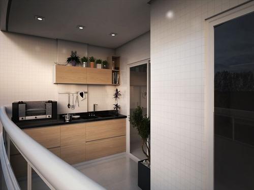 ref.: 3522 - apartamento em praia grande, no bairro aviacao - 1 dormitórios