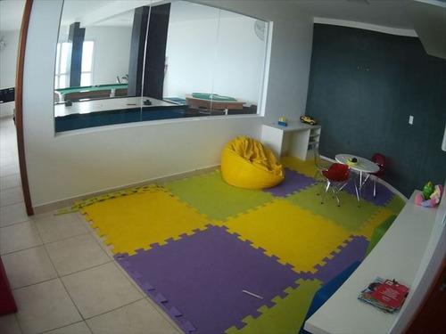 ref.: 3529 - apartamento em praia grande, no bairro guilhermina - 3 dormitórios