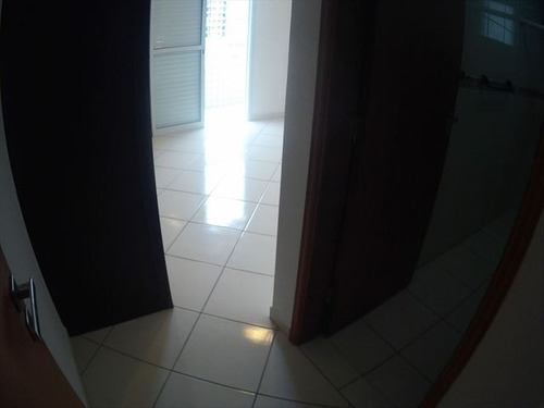 ref.: 3533 - apartamento em praia grande, no bairro guilhermina - 2 dormitórios