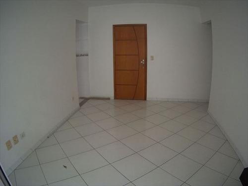 ref.: 3535 - apartamento em praia grande, no bairro guilhermina - 2 dormitórios