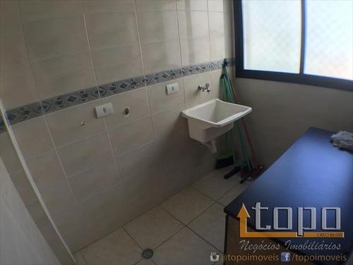 ref.: 3561 - apartamento em praia grande, no bairro guilhermina - 2 dormitórios