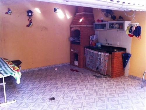 ref.: 357200 - casa em praia grande, no bairro vila guilhermina - 3 dormitórios