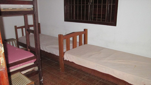 ref.: 360 - casa em itanhaém, no bairro savoy - 2 dormitórios